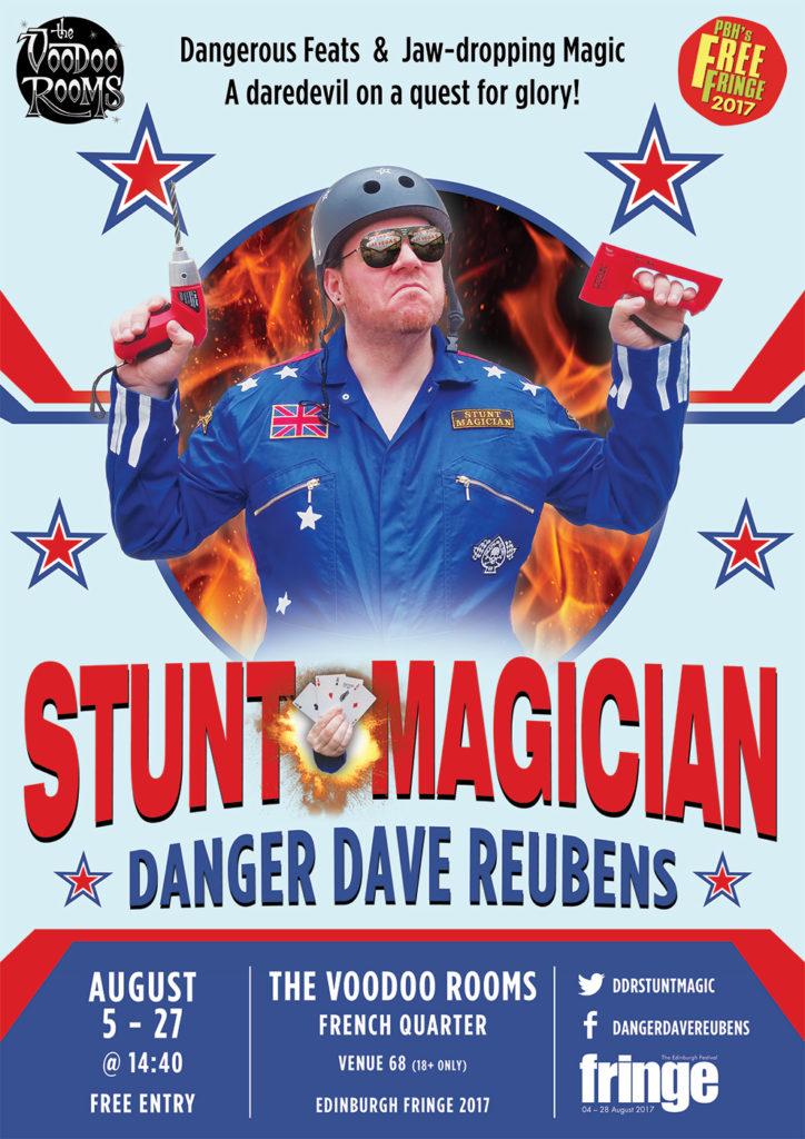 Stunt Magician - Danger Dave Reubens