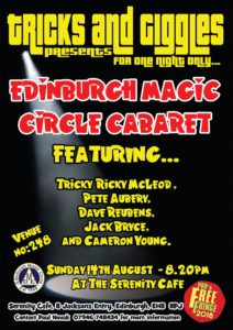 Edinburgh Magic Circle Edinburgh Fringe 2016
