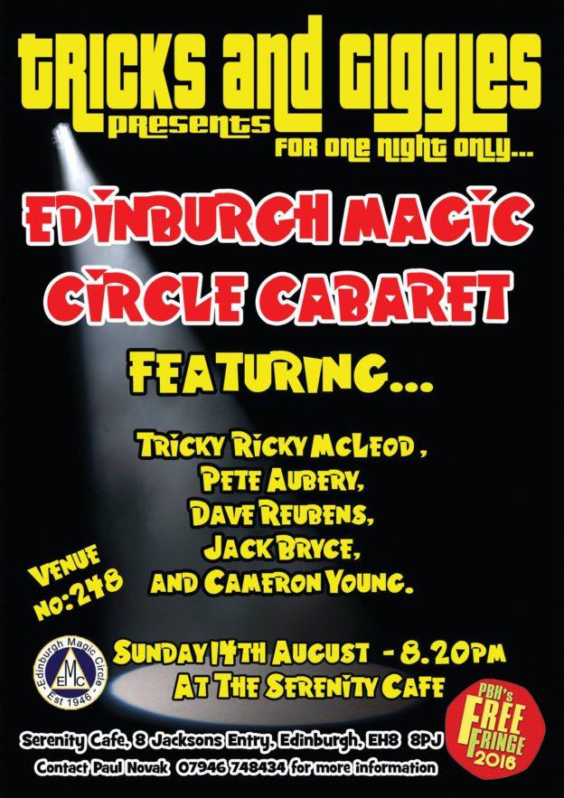 Edinburgh Magic Circle Edinburgh Fringe 2016