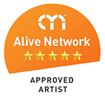 Featured Artist on Alive Network.com